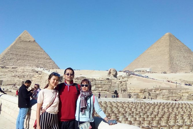 Giza pyramids sphinx Egyptian museum local market tours