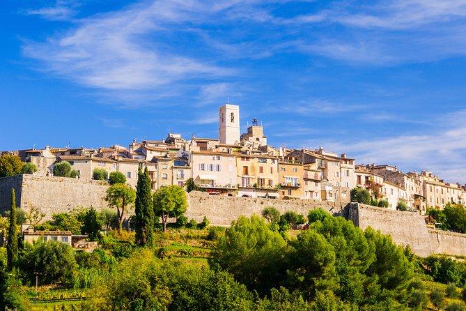 Provence Countryside Tour: Grasse / Gourdon / Tourettes sur Loup / St Paul de Vence