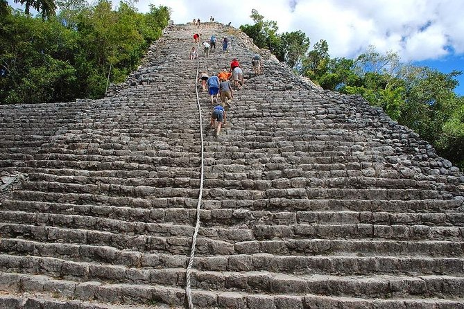 FANTASTIC ADVENTUROUS COMBO: Tour to Tulum Ruins, Coba Ruins and Mayan Cenote! photo 6