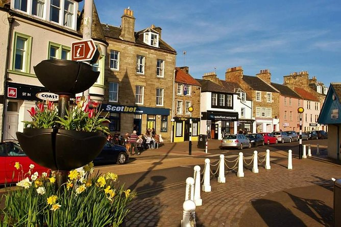 Day Trip to St Andrews Dunfermline and the Fife Coast in a Private Minibus from Edinburgh