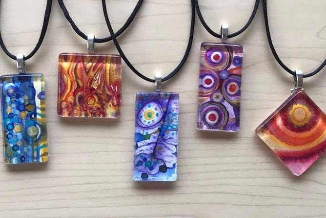 Make Jewelry from Your Watercolor Painting