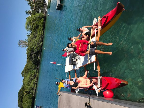 Hawaiian Outrigger Canoe and Snorkel Adventure photo 2