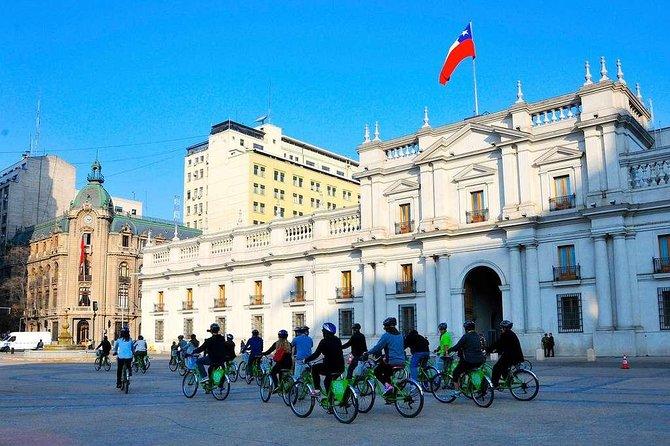 Bike Tour through old Santiago de Chile