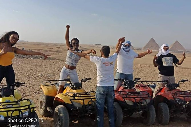 Desert Safari by Quad Bike Around Pyramids