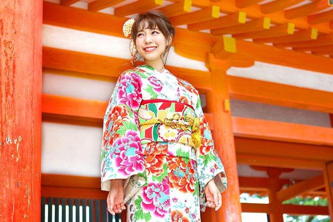 Luxe lokale Kimono-verhuur in Kyoto