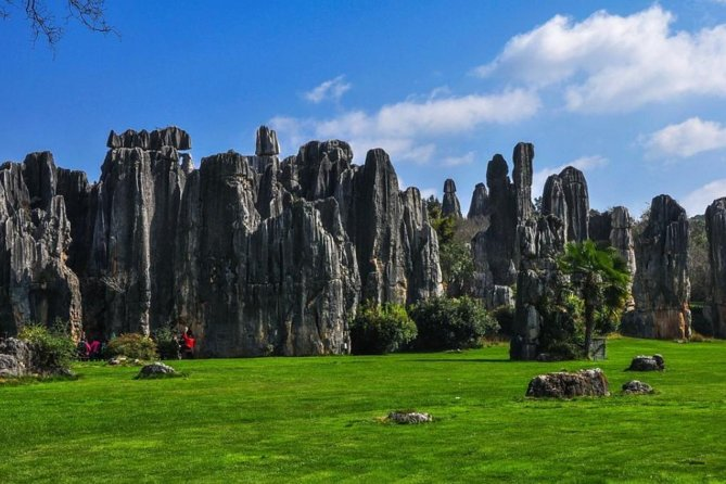Eintägige private Tour nach Stone Forest und in die Altstadt von Guangdu
