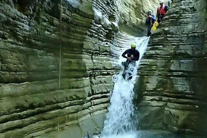 Canyoning trip at Zagori area of Greece