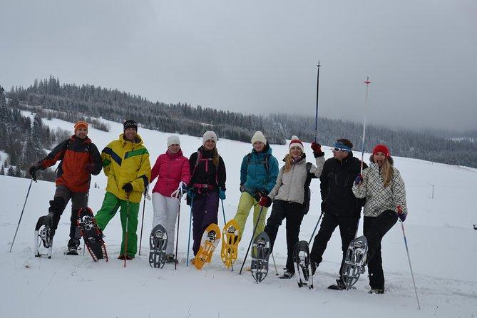 Private snowshoeing tour in Slovakia with Adventoura Slovakia