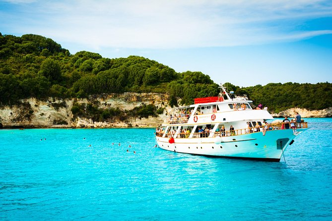 Syvota Blue Lagoon Full-Day Cruise from Corfu
