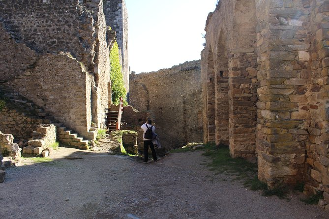 Half day tour to Lastours Castles. Private tour from Carcassonne and around.