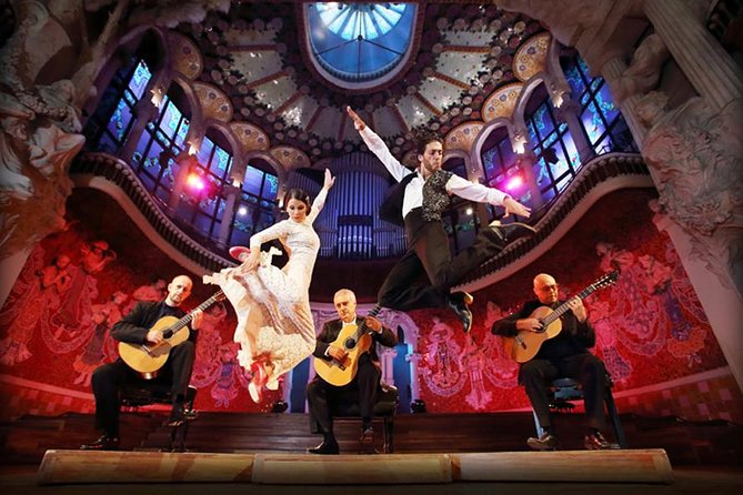Spanish & Flamenco Guitar Concert at the Palau de la Música Catalana, Barcelona