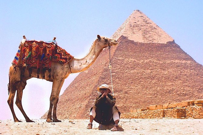 Giza Pyramids and Sphinx - Small Guided Group