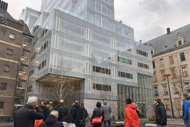 Visite à pied de l'architecture à Rotterdam