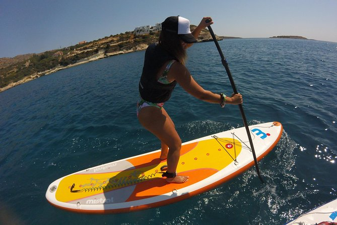Stand -Up Paddleboard and Snorkeling Tour in Crete