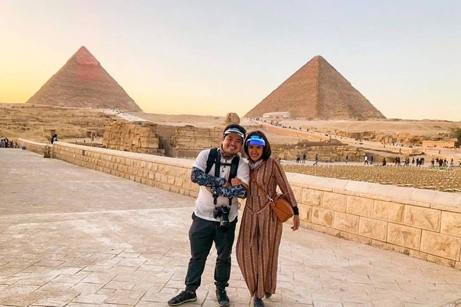 Giza pyramids, sphinx, Mummification ,valley temple day tours