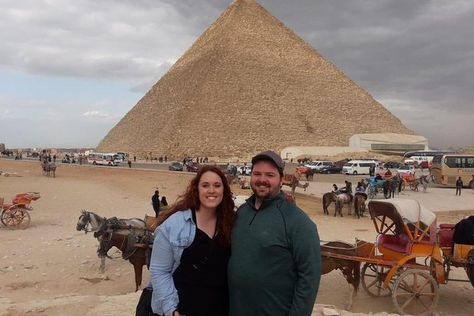 Giza pyramids , sphinx , lunch koshry and camel ride including