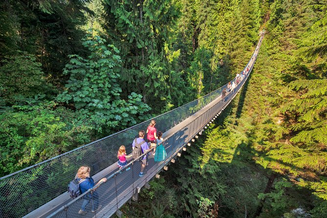 Skip the Line:Capilano Suspension Bridge Park Ticket w/Shuttle from Vancouver photo 2