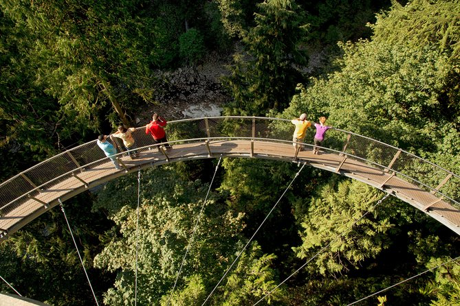 Skip the Line:Capilano Suspension Bridge Park Ticket w/Shuttle from Vancouver photo 7