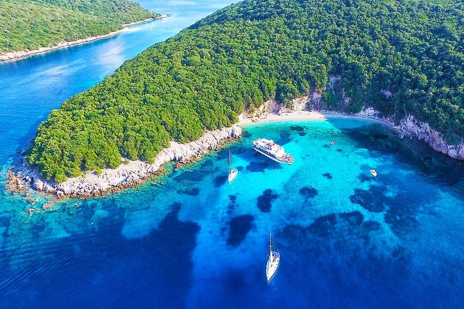 Blue Lagoon & Sivota Cruise from Corfu