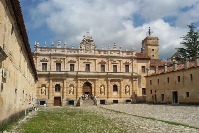 Padula Charterhouse private tour: A hidden gem in south of Italy (Unesco)