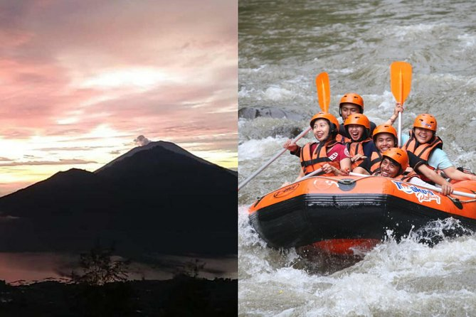 Bali Sunrise Trekking with Rafting in Oneday