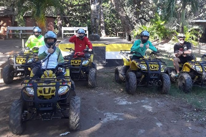 Shore Excursion: See Roatan on your own ATV Bikes and Reef Snorkel