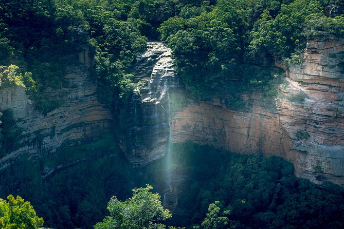 Blue Mountains Semi Private Tour Enjoy a Sleep In, Waterfalls, Sunset & Dinner