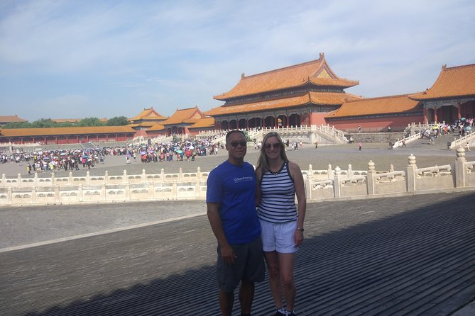 Private All-Inclusive Day Tour: Tiananmen Square, Forbidden City, Mutianyu Great Wall photo 6