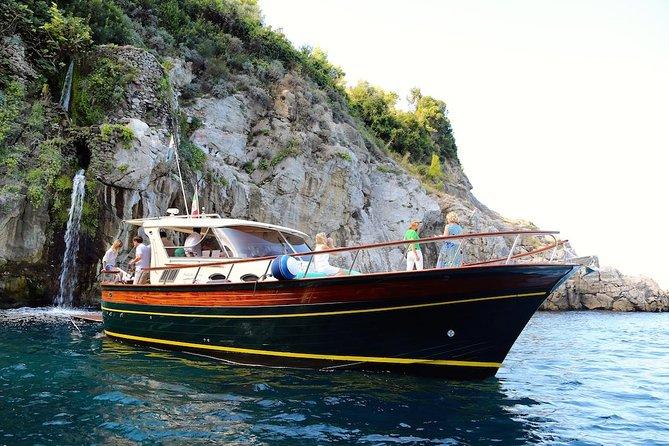 Day trip to Amalfi coast and Ieranto bay with hybrid boat - Eco-friendly tour