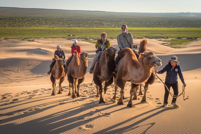8 Days tour immersed in the marvellous colors of the Gobi