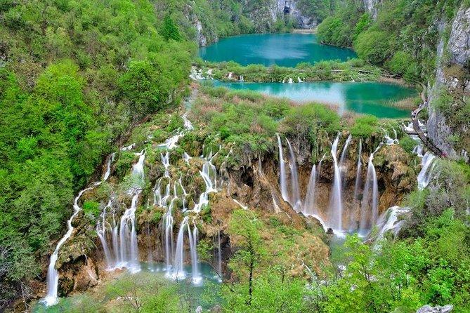 From Zadar: Plitvice Lakes and Rastoke mills (Skip the long line)
