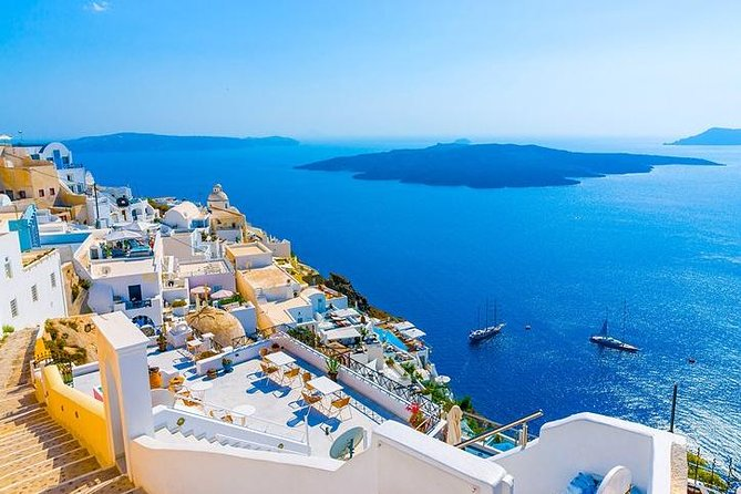 5 Day Greek Islands tour, Mykonos, Santorini, Delos Cruise & Sunset to Volcano