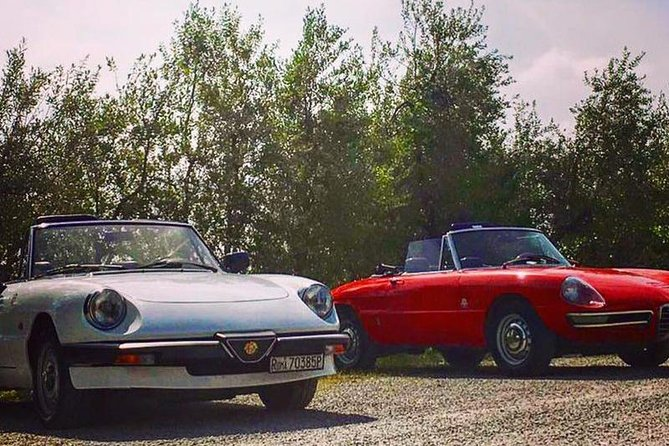 Vintage Spider tour in Tuscany