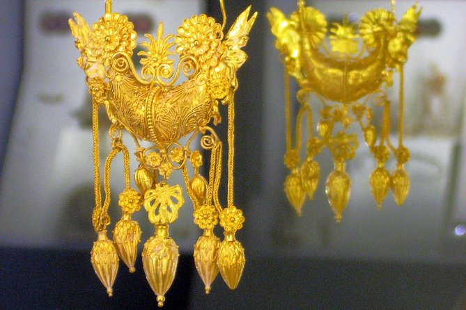 MarTa Archaeological Museum Taranto tour: very impressive great gold artifacts
