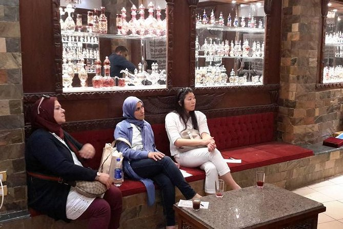 Cairo shopping tour papyrus planet ,perfume factory ,Egyptian cotton and bazaars