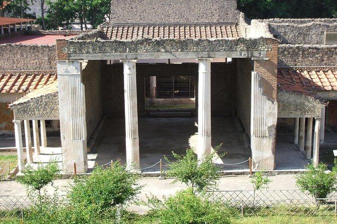 Oplontis Villa Poppaea tour: preserved Roman Villa with stunning frescoes UNESCO