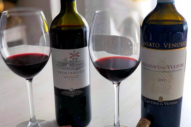 Venosa tour guide: guided tour with Aglianico del Vulture red wine tasting