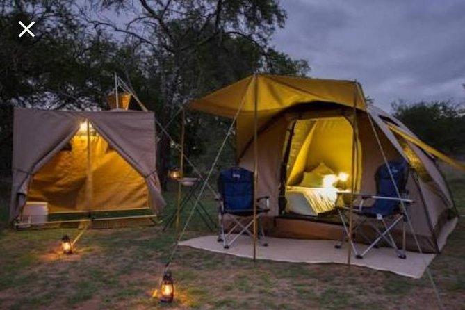 Tented Kruger Park Safari 3-day from Johannesburg or Pretoria R9450