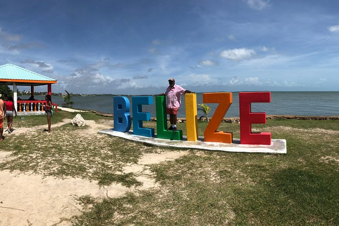 Rain forest Zip Line Adventure & Belize sign & Rum Factory from Belize City