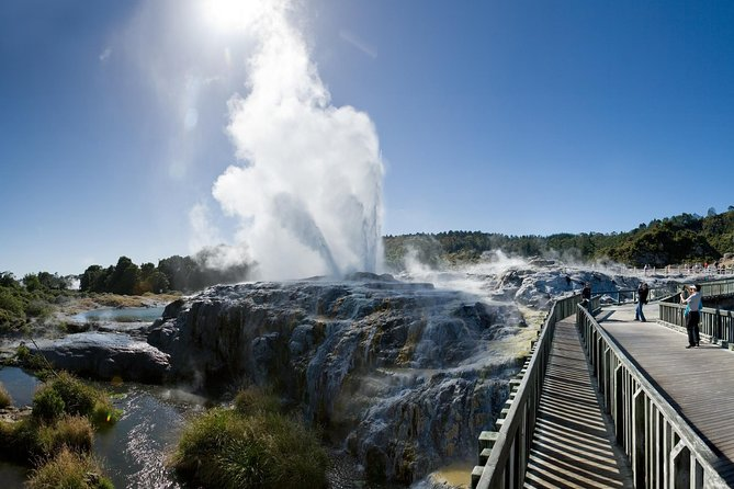 Rotorua Geo Thermal Valley Private Tour (Max 4 Passengers)