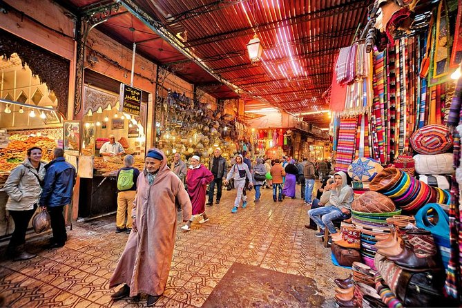 Half-day Shopping and walking tour in Marrakech markets