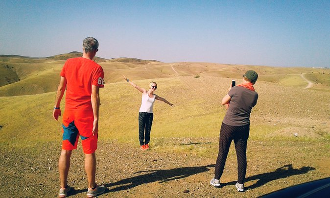 Off-road Agafay desert & Atlas mountains day trip from Marrakech