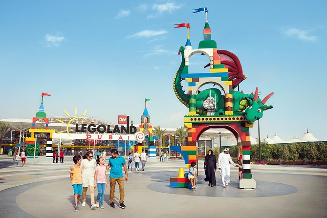 LEGOLAND® Dubai Entrance Ticket with Private Transfers from Dubai Hotel