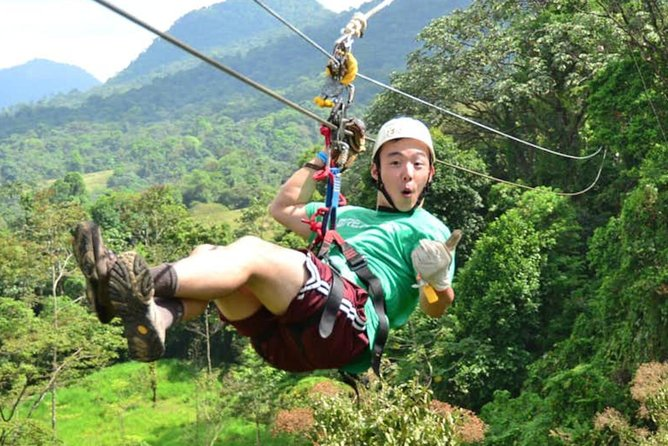 Full-Day Eco Adventure: Safari Truck, Zipline, Quad Bike Tour and Water Cave