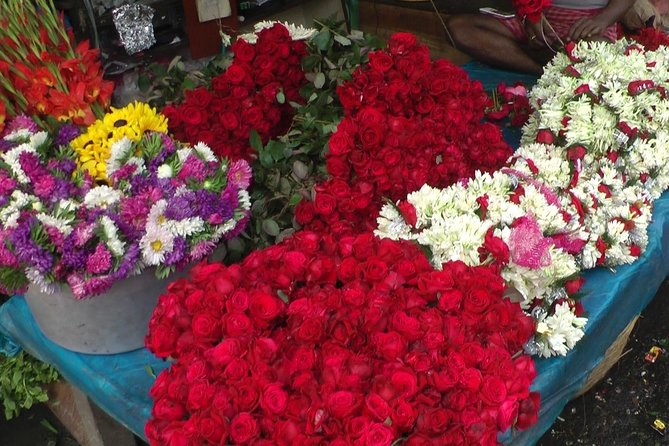 Morning tour of Kolkata with Flower Market
