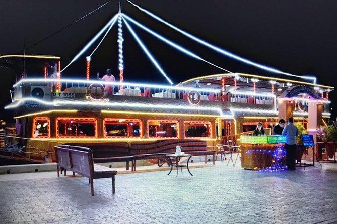 Dhow Cruise Tour with Dinner in Deira Creek - Dubai
