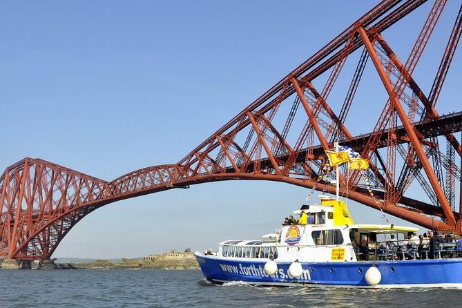 Edinburgh Three Bridges & Inchcolm Island Cruise