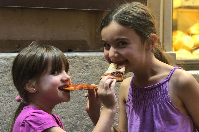 Small Group Rome Night Tour for Kids & Families w Gelato Pizza & Must-see Sites