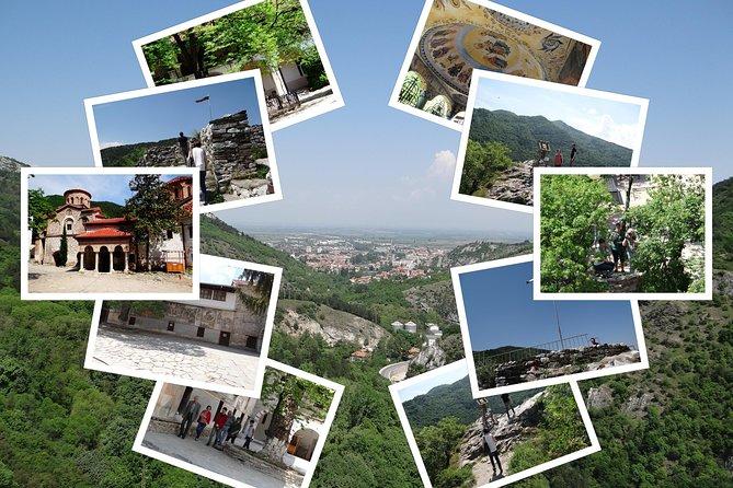 Från Sofia till Bachkovo kloster, Asens fästning och Plovdiv