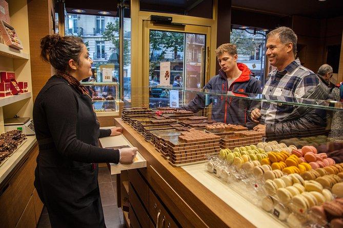 Excursão com doces e chocolates em Paris